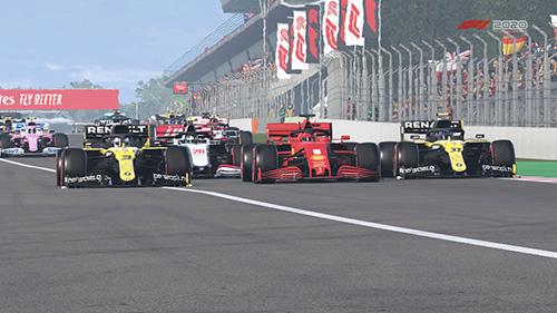 F1 2021, F1 2020, ORC, Online Racing Club, Online Liga, online racing