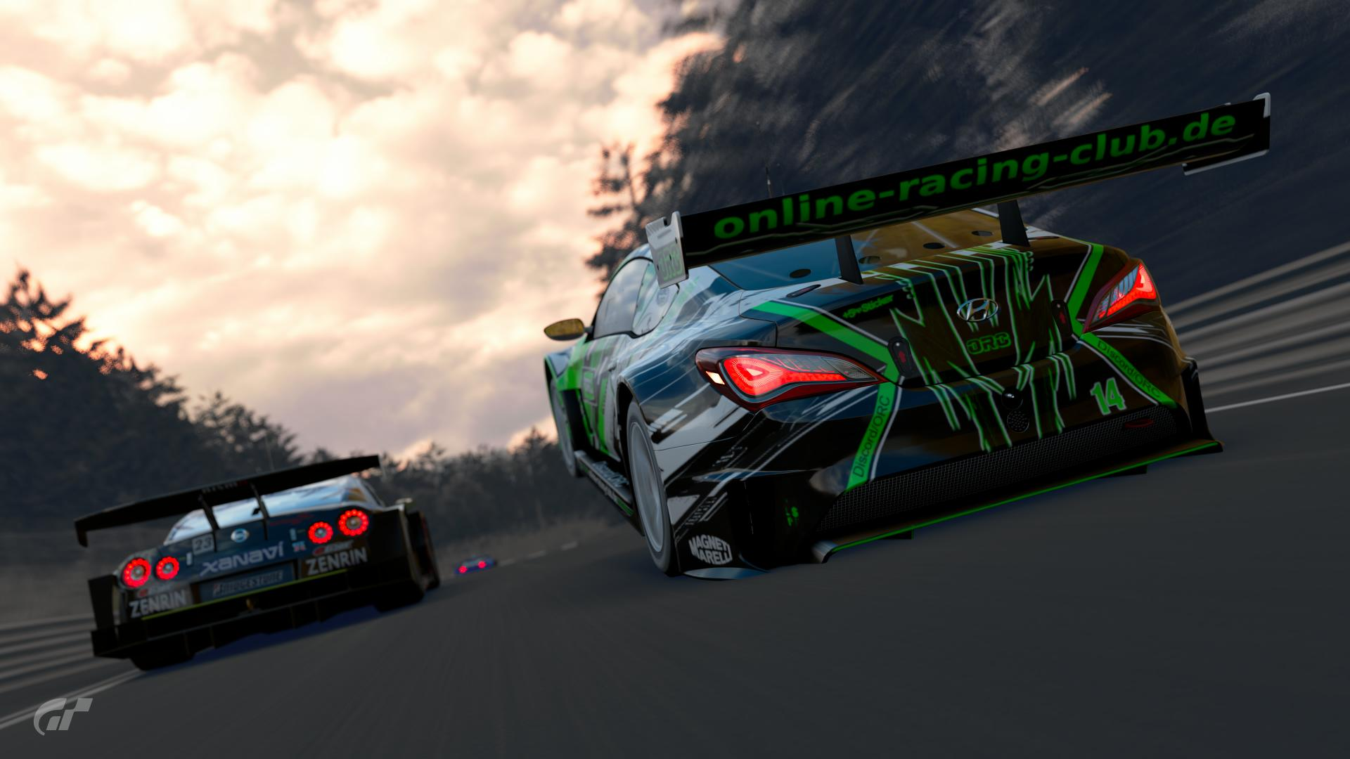 GT Sport online Liga ORC